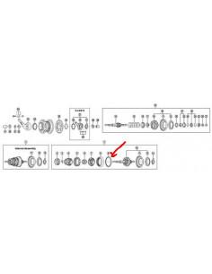 Kullager höger stora nexus 7-v shimano