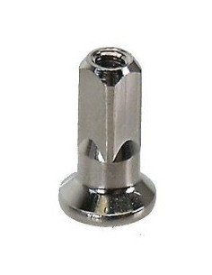 Ekernippel för 2 mm ekrar 16 mm lång 4 mm ytterdiameter