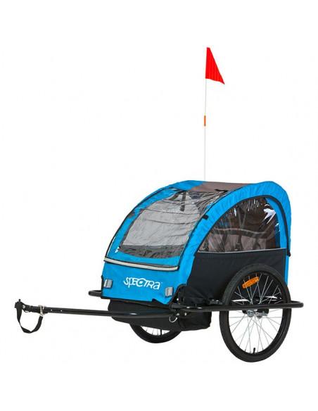 Cykelvagn eco för 2 barn + last spectra