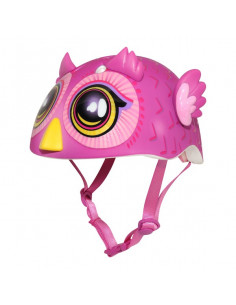 Hjälm miniz kids 48-52 cm big eyes owl cpreme
