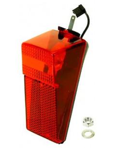 Baklampa för bakskärm med kabel