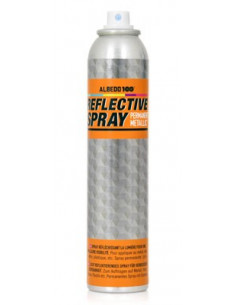 Permanent metallic reflective spray albedo100