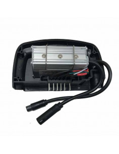 Kontrollbox framhjulsmotor med batteri i pakethållaren egoing