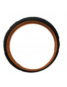 Däck 47-305 16x1.75 svart/orange njk