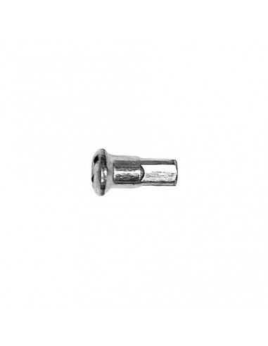 Ekernippel för 2 mm ekrar 12 mm lång 4 mm ytterdiameter