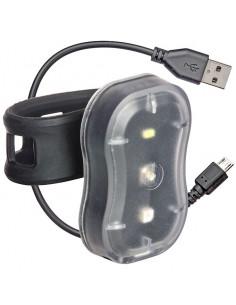 Fram/bak lampa combi uppladdningsbar tec