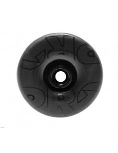 Täcklock för styrlager 1 1/8 tum svart carbon shimano