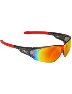 Glasögon arma svart/röda tec