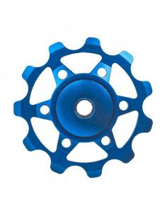 Rulltrissor aluminium blåa tec