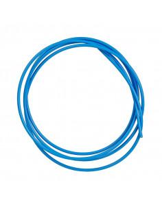 Växelvajerhölje blått tec