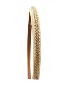 Däck 47-622 (28x1 5/8x1 3/4) p. skyddat beige m. reflexkant spectra