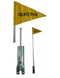 Säkerhetsvimpel / flagga gul