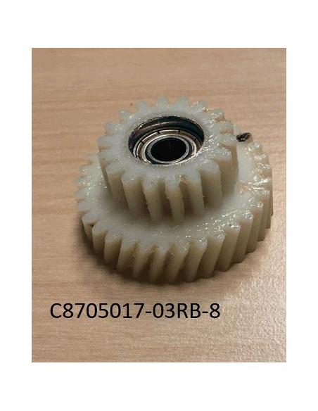Kopplingshjul för rullbromsmotor e-going