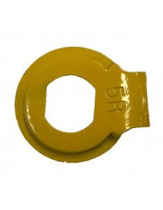 Fixeringsbricka 5r höger gul shimano