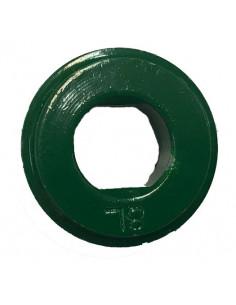 Fixeringsbricka 8l vänster grön shimano
