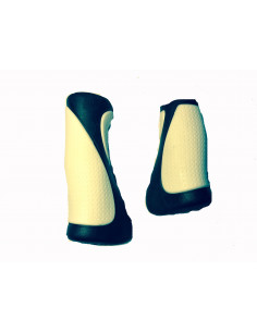 Handtag 90/120 mm Svart/Vit