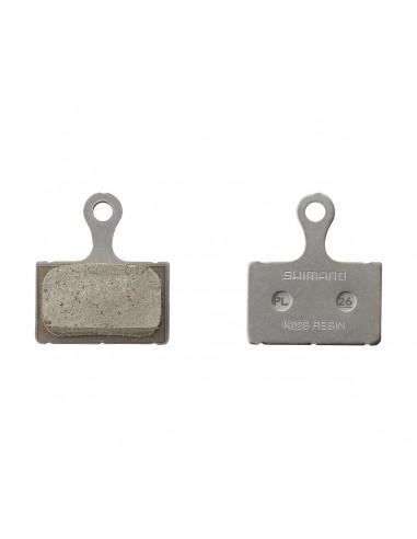 Skivbromsbelägg med resin K02S, BR-S805/BR-RS505 mfl shimano