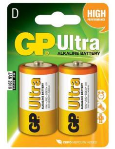 Batterier LR20 1,5 V 2-Pack