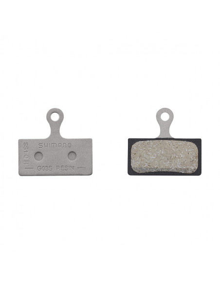Skivbromsbelägg slx med resin g03s, br-m9000/9020/8000 mfl.