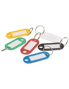 Nyckelring / nyckelbricka blandade färger
