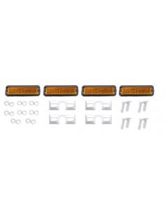 Reflexer för pedaler med skruv 4-pack