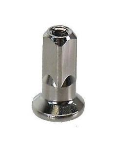 Ekernippel för 2 mm ekrar 14 mm lång 4 mm ytterdiameter