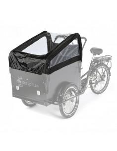 Kapell 2-barns med bågar för cargo bike