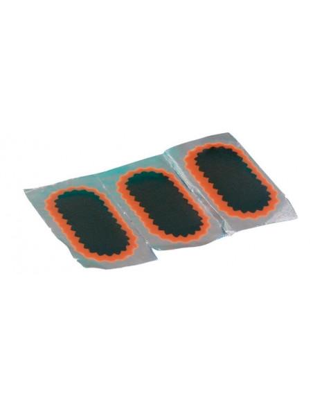 Reperationslapp 25 x 50 mm oval