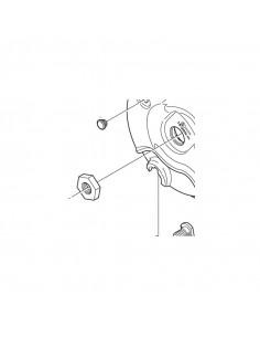 Låsmutter för rullbroms bla. br-im41-f / im45-f mfl. shimano