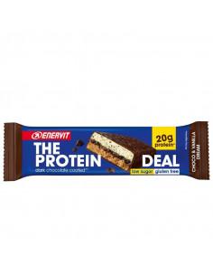 Protein bar choklad/vanilj enervit
