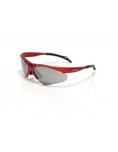 Solglasögon sg-c02 tahiti röd inkl. gula och klara glas xlc
