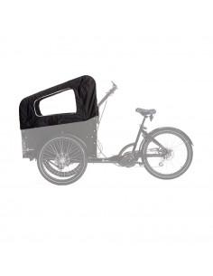 Kapell 2-barns med bågar för delight cargo bike