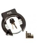 Ringlås plug-in och låskolv för egoing pakethållare montering axa