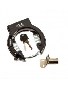 Ringlås solid plus plug-in och låscylider för egoing semi ram montering axa