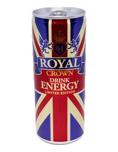 Royal crown enery drink 25 cl burk