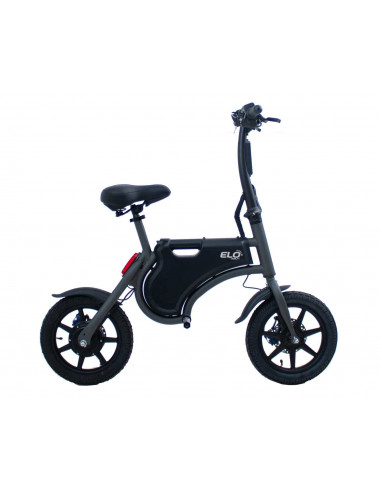 Elscooter elo mobility fold svart